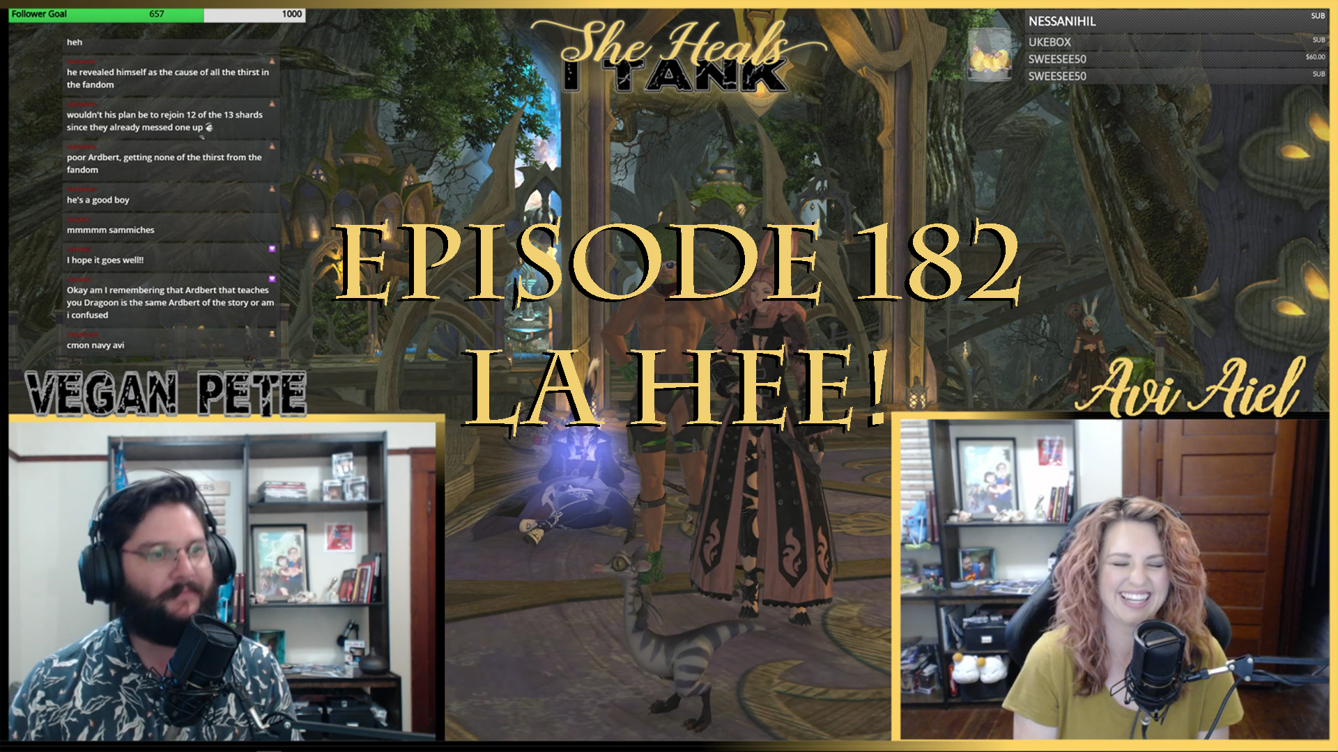 Episode 182: La Hee She Heals I Tank: A Weekly Final Fantasy