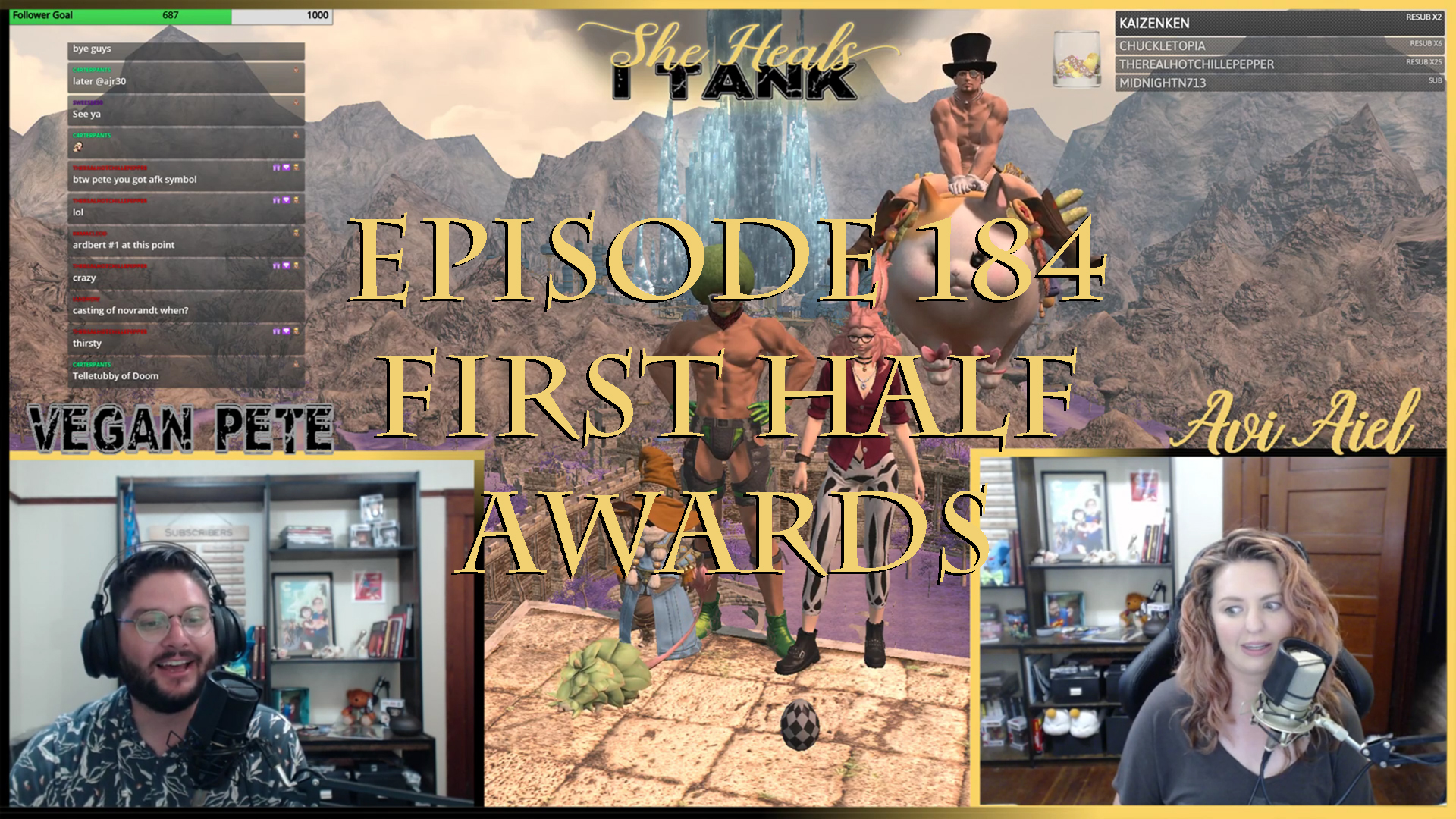 Episode 184: First Half Awards She Heals I Tank: A Weekly