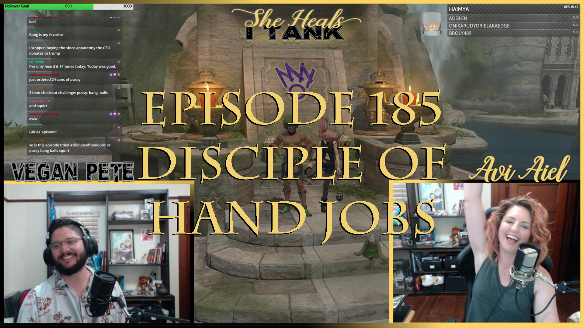 Episode 185: Disciple Of Hand Jobs She Heals I Tank: A